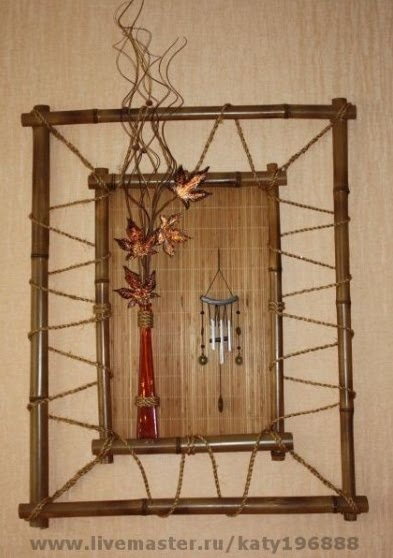 Рамка своими руками бамбуком