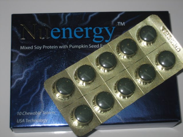 NUENERGY MISED SOY PROTEIN WITH PUMPKIN SEED