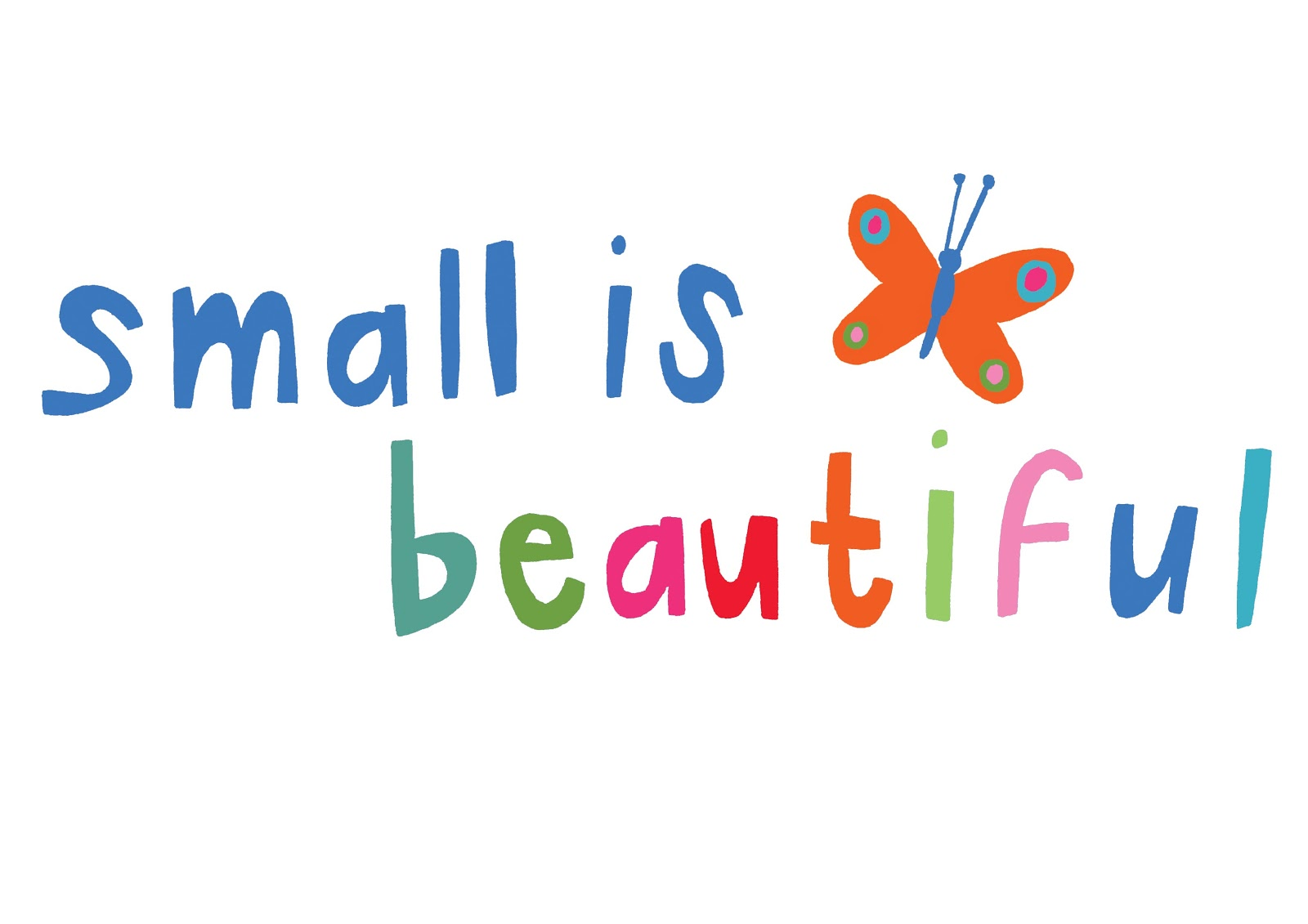 Small is Beautiful: http://hannah-broadway-pictures.blogspot.com/2011/01/small-is-beautiful.html