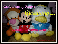 Cute Teddy Bears Giveaway!!!