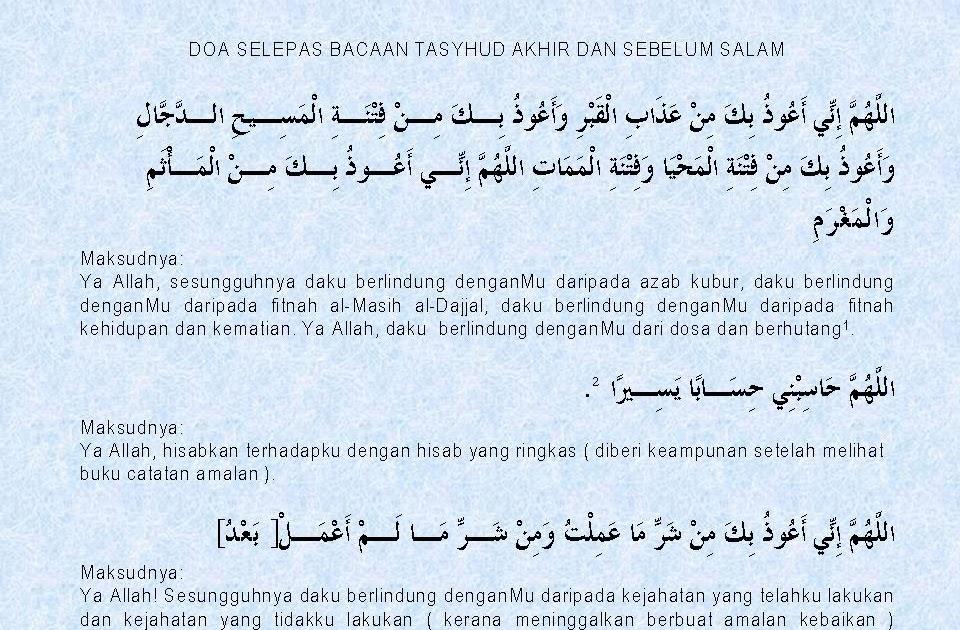 Seratus Sunnah Nabi Doa Sebelum Memberi Salam