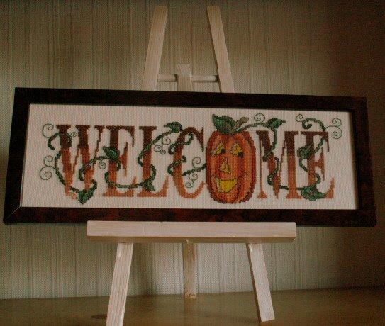 Stitching Pumpkin
