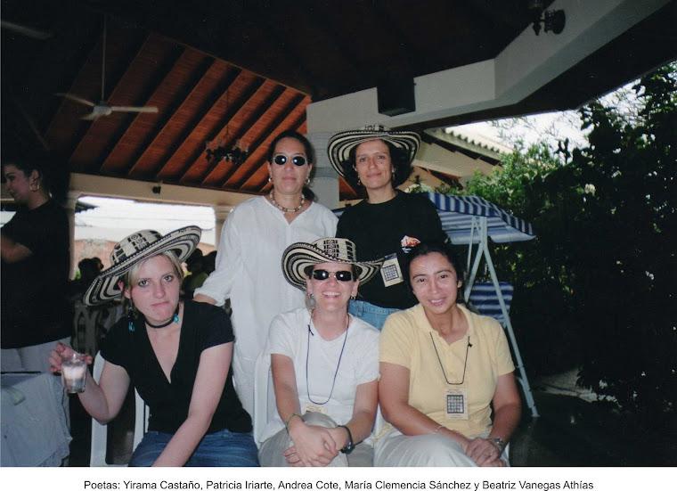 Yirama Castaño, Patricia Iriarte, Andrea Cote, María Clemencia Sánchez y Beatriz Vanegas Athías, En