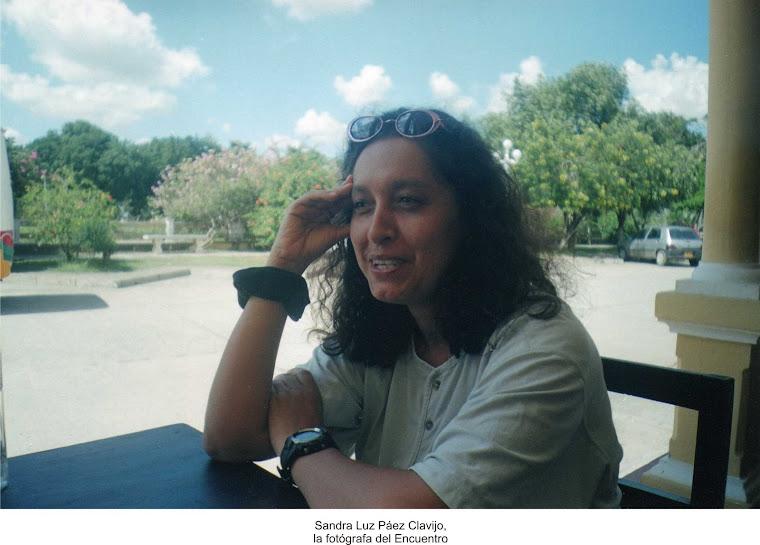 Sandra Luz Páez:La fotógrafa del Encuentro de Cereté