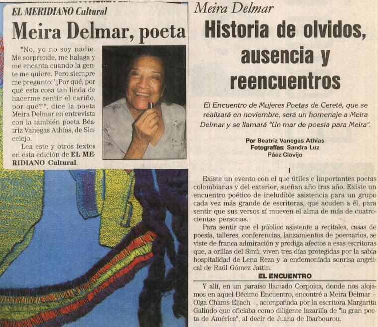 Reportaje a Meyra Delmar