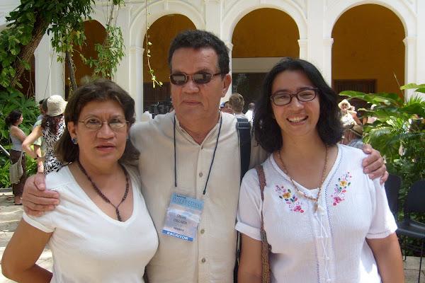 Con Lena Reza Y Óscar Collazos
