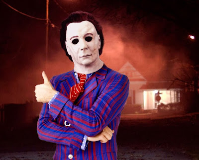 The Mike Myers/Michael Myers mix-up: Psycho-delic, baby! The Blur: