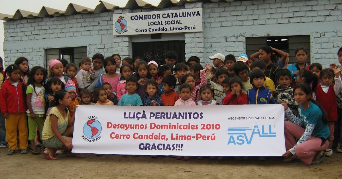 Lli a peruanitos proyecto taller de costura for Proyecto comedor social