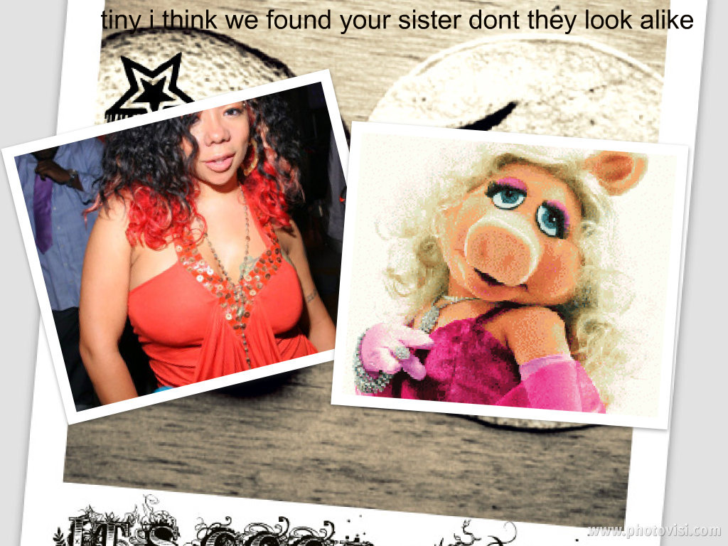 WELCOME: MISS PIGGY MEETS TINY