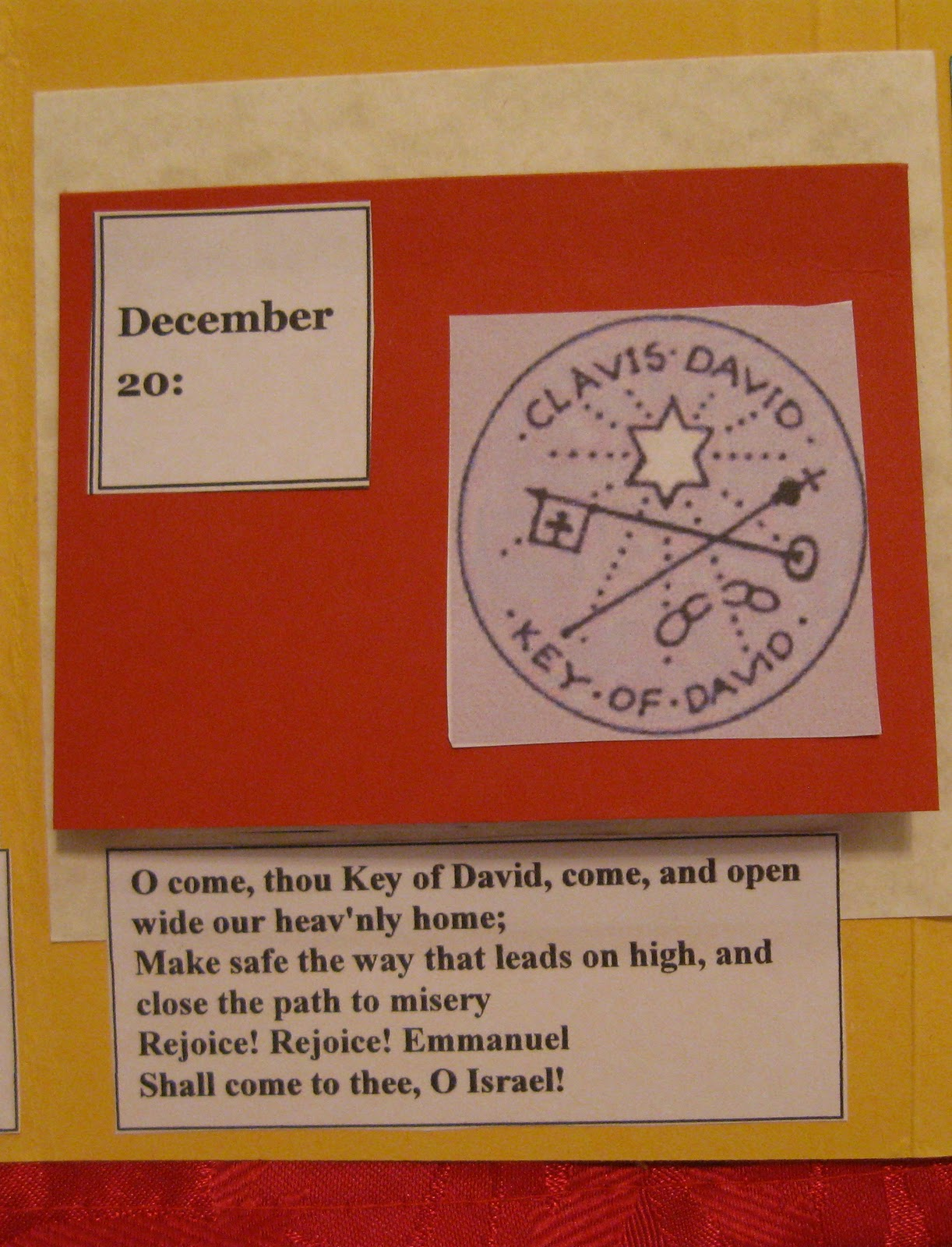 Busy with Blessings: O' Antiphons Lapbook