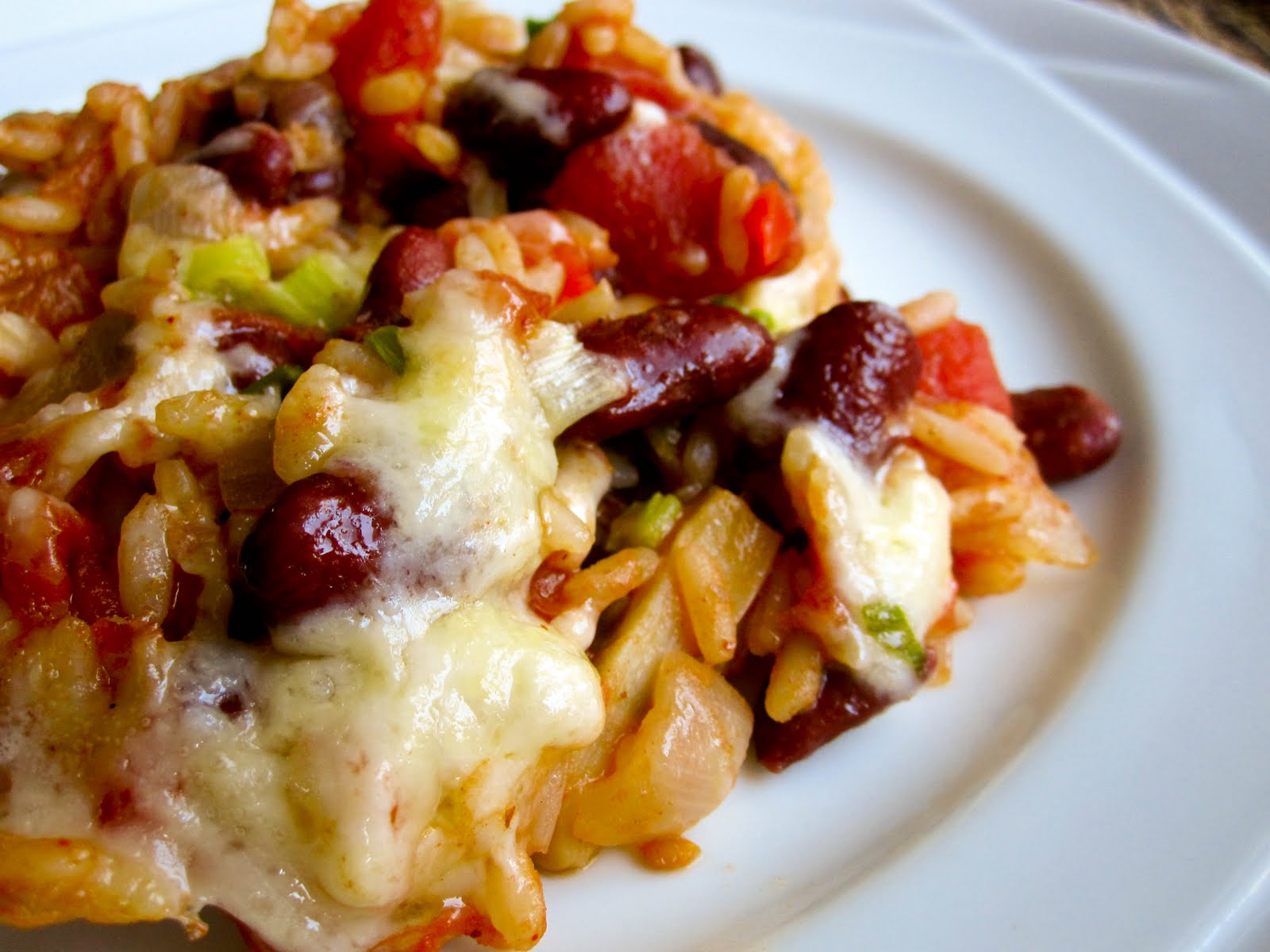 Mexican Rice and Bean Casserole - Food & Whine