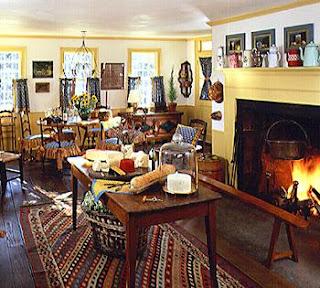 Home Interior Design Style Guide Colonial Farmhouse