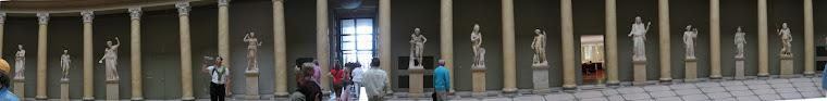 Haciendo fotos en el Pergamon