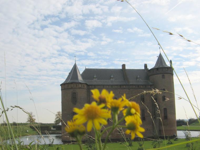 Castillo de Muiden muy cerca