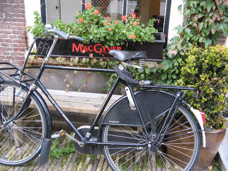 la bici de Mac Gyver