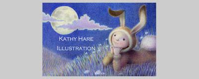 kathyhareillustration, illustration portfolio, illustrator for commission, children's book art, cambridge school of art, kathy hare, moongazing hare