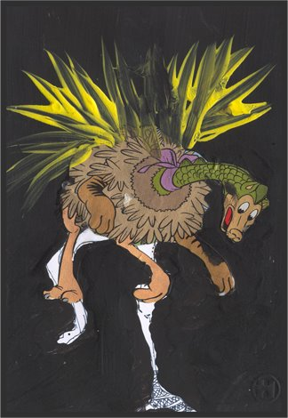 1) Creature N° 1 of Roland Halbritter