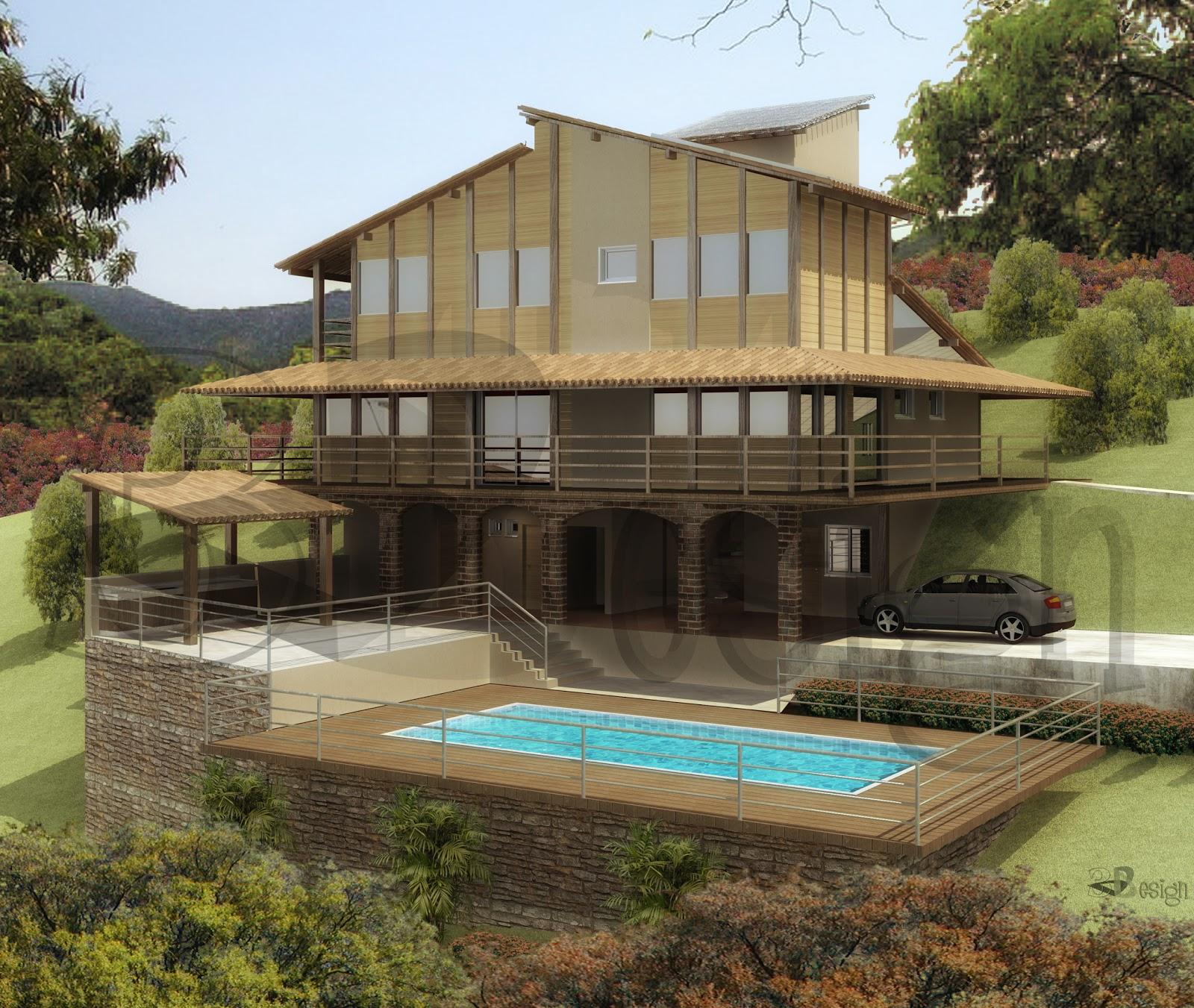 Fotos de casas de campo casas y fachadas holidays oo for Fachadas de casas modernas