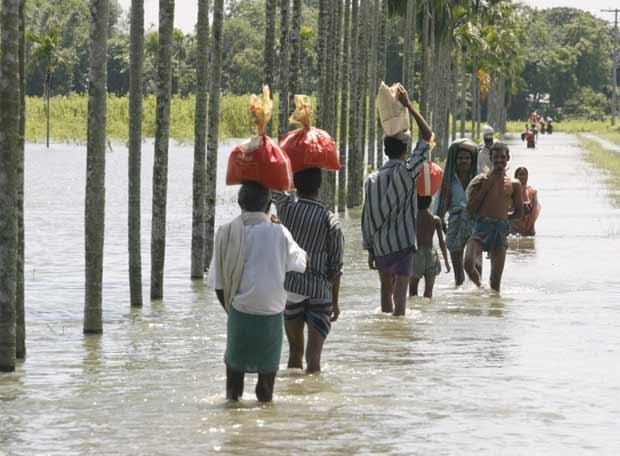 Sube a 4.170 el número de desplazados por las lluvias en República Dominicana