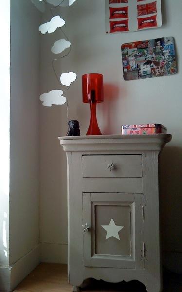 Little star relooker un vieux meuble valy 39 s blog - Relooker un vieux meuble ...