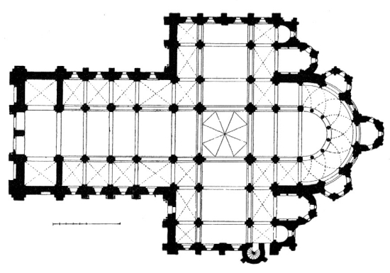 arch st foy conques france 1050 1130 ce romanesque