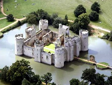 Arch Bodiam Castle Near Robertsbridge England 14th