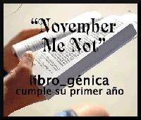 November Me Not
