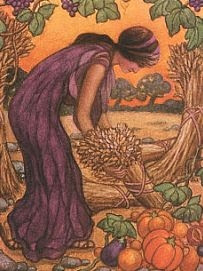 demeter the goddess of agriculture Demeter greek goddess of the harvest (agriculture, grain, and bread) beloved, and widely worshiped, demeter, the greek goddess of the harvest, is the daughter of cronus and rhea.