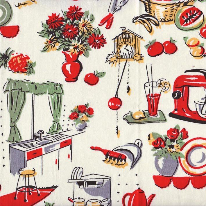 The Bowerbird 1950 S Fabric