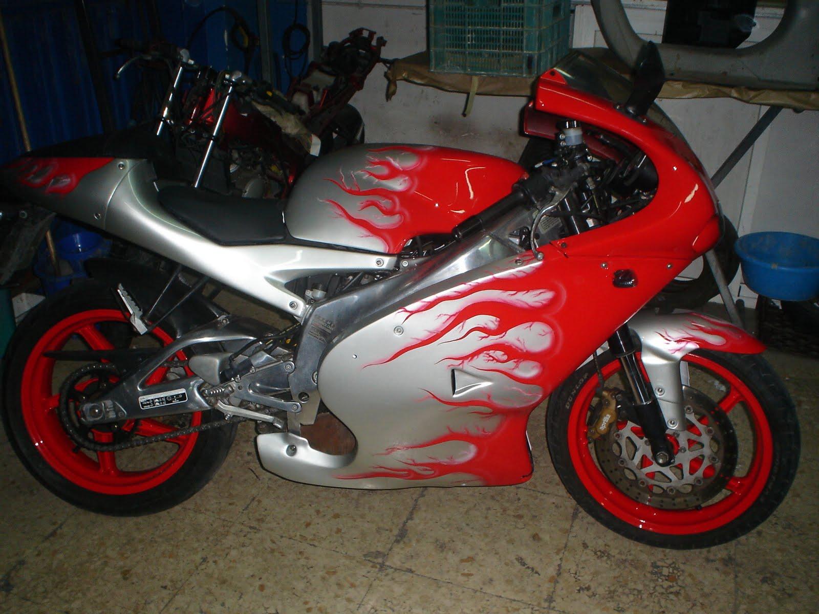 Motos pintura bellota dise os de aerografia for Disenos de motos