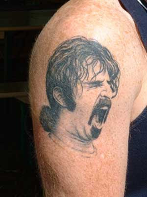 show us your bass tattoo's - TalkBass Forums Frank Zappa. Korn