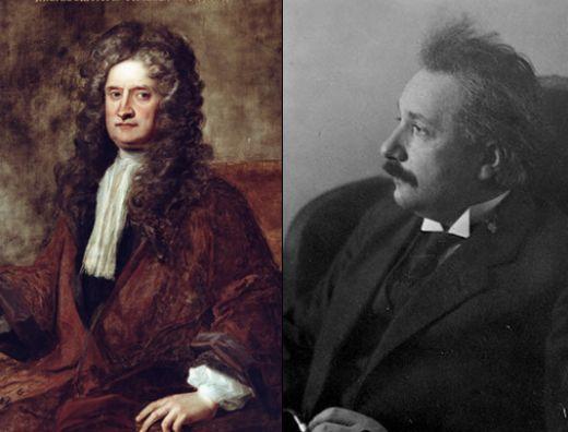 Newton e Einstein