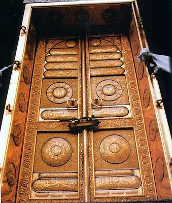 kaaba's door