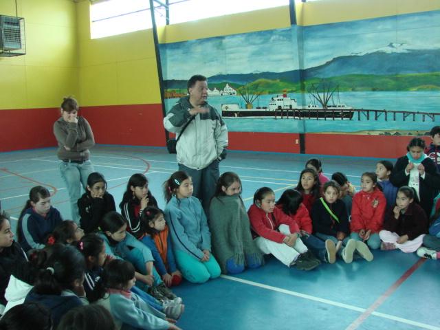 Jefe de Campamento Sr. José Mancilla Quinán