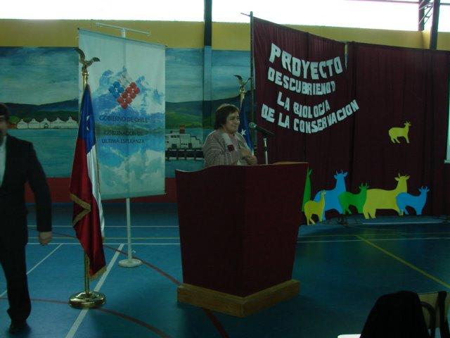 DISCURSO COORDINADORA REGIONAL EXPLORA