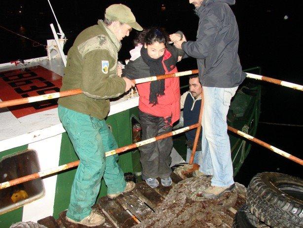 Tocando Tierra Firme en Puerto Edén