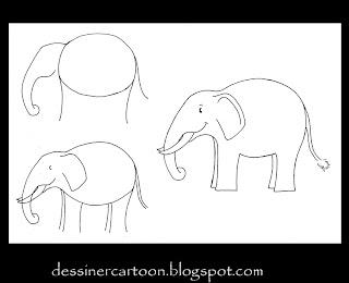comment dessiner éléphant