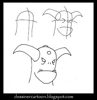 Dessiner cartoon november 2009 - Dessiner un diable ...