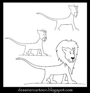 Dessiner cartoon december 2009 - Comment dessiner un lion ...