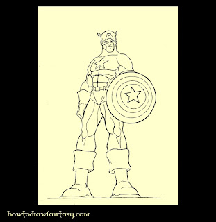 Captain America the avenger
