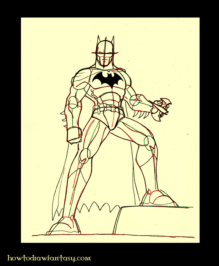 Comment dessiner batman - Dessiner batman ...