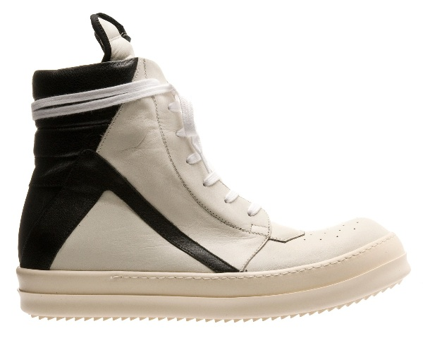 Rick Owens Two-Tone Hi-Top Sneakers_3