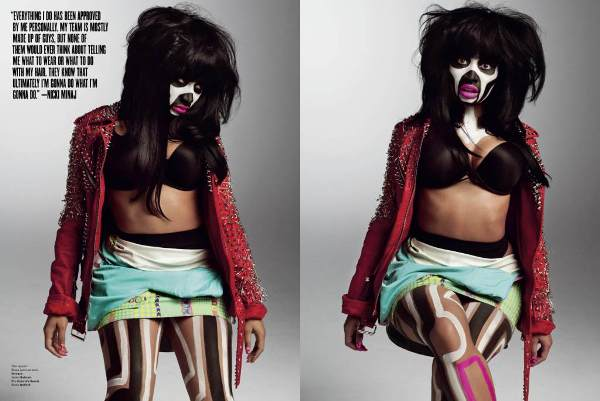 V Magazine Nicki Minaj_3