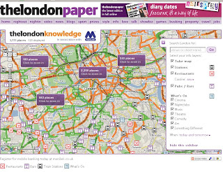 thelondonpaper map