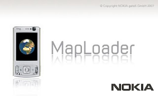 Nokia MapLoader Splash Screen