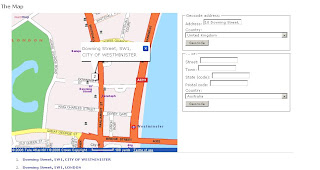 Multimap UK Geocoding Addresses