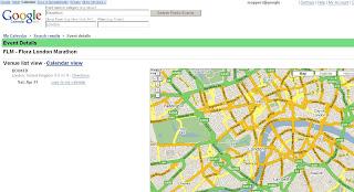 Google Maps Public Calendars