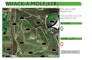Whack A Mole Map