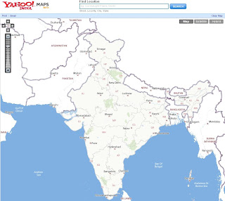 Yahoo Maps India