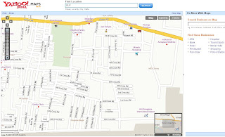 Yahoo Maps India Bangalore